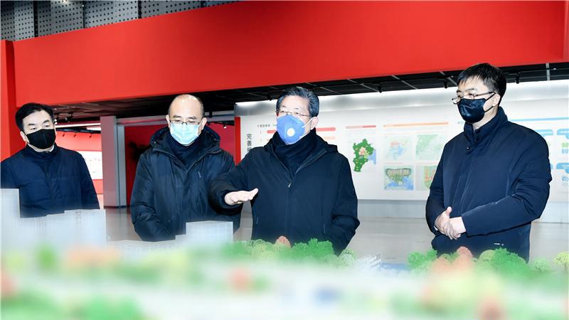王东峰在雄安新区调研检查:齐心协力打赢疫情防控阻击战
