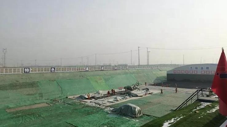 访|K1快速路:为京雄城铁河北雄安站保驾护航
