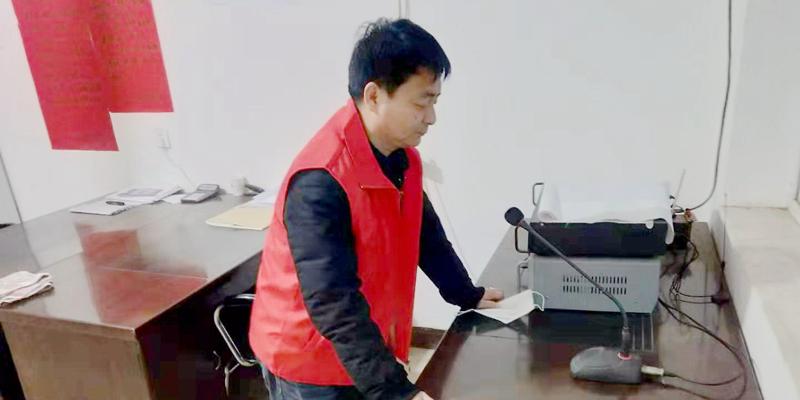 安新县村民自发捐款捐物 共抗疫情