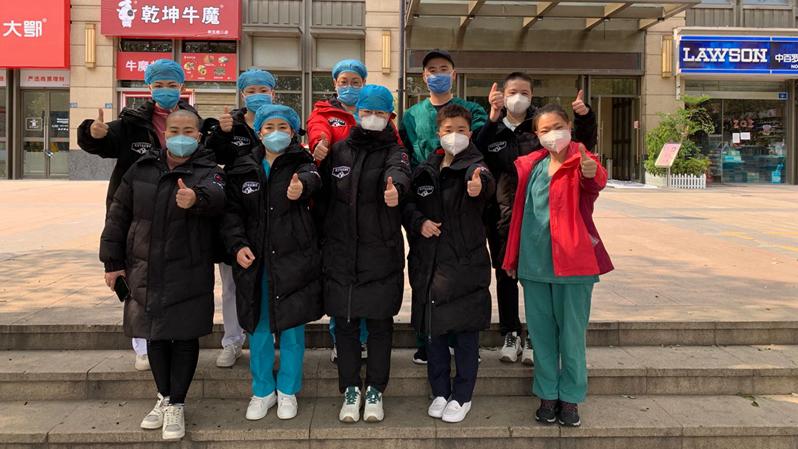 团结就是力量——视频连线雄安驰援武汉医务工作者郝艳丽