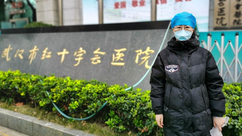 """""""每天面对重症病人,我从不害怕""""——视频连线雄安驰援武汉医务工作者张梓雯"""