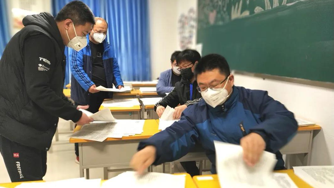 """雄安新区雄县中学的学生收到一份""""紧急快递"""""""