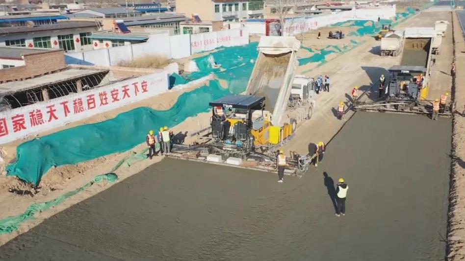 河北雄安新区重点工程项目复工