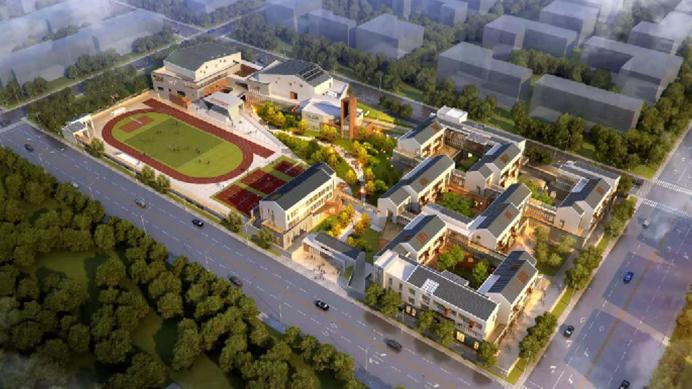 打造全过程绿建三星工程——探访史家胡同小学雄安校区施工现场