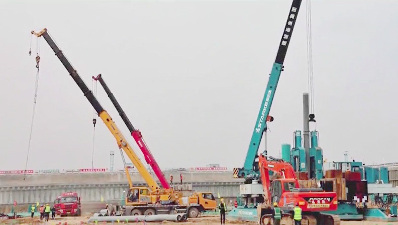 """百日""""冲刺"""" 雄安商务服务中心完成重大工程节点"""