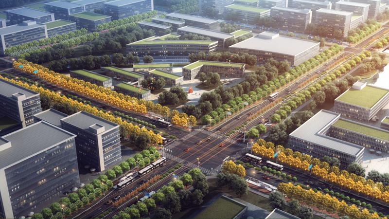 雄安站枢纽片区市政道路、综合管廊、排水管网系统(一期)工程一标段项目完成桩基施工
