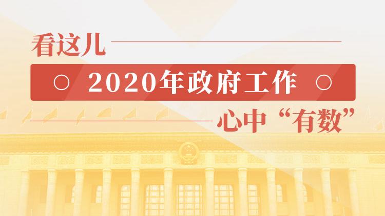 """看这儿,2020年政府工作,心中""""有数"""""""