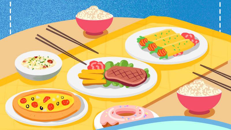 """餐桌上的礼仪丨做个优雅的""""吃货"""""""