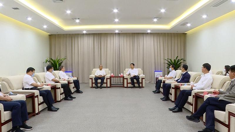 视频丨邯郸市党政代表团到雄安新区调研交流