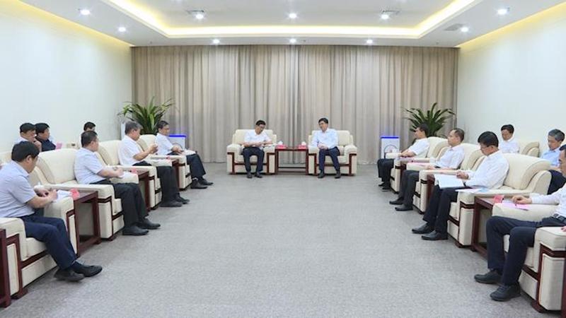视频丨陈刚与衡水市党政代表团举行工作座谈