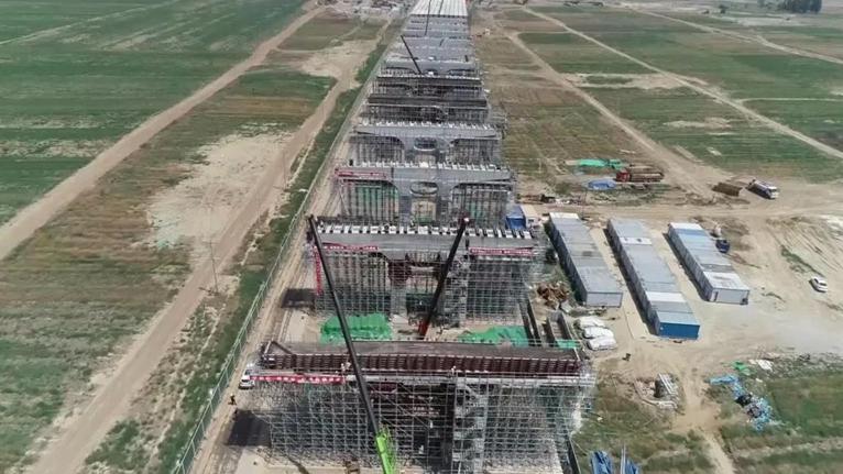 河北雄安新区对外骨干路网建设完成阶段性目标