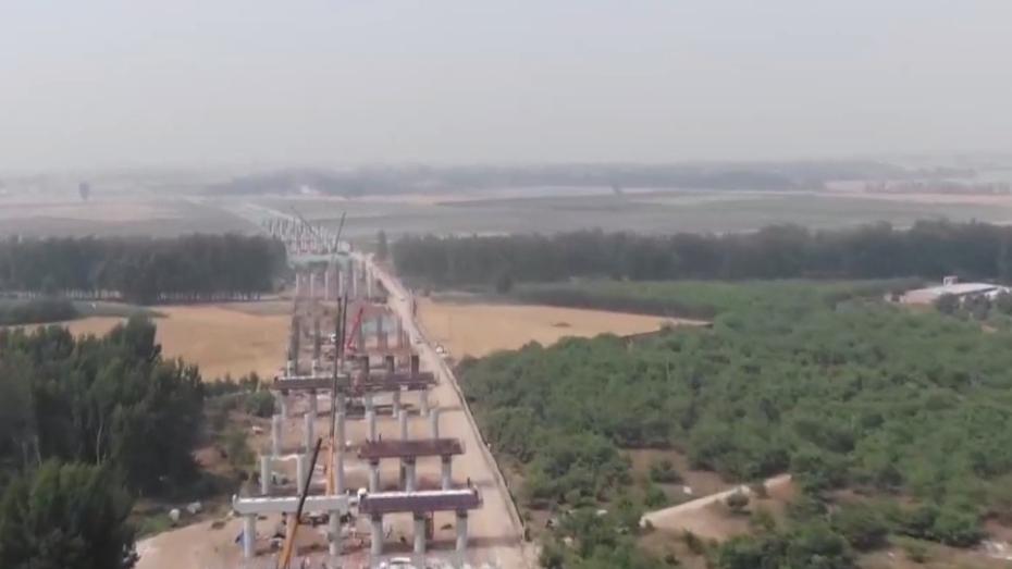 京雄高速SG5标段冲刺施工 已完成全年产值计划54.6%
