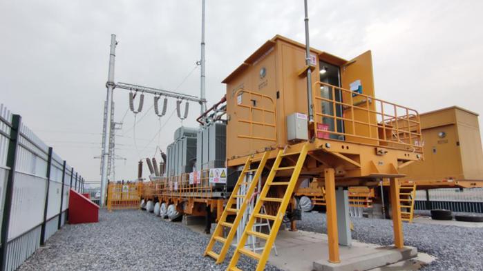 雄安新区启动区首个施工电源工程正式投运