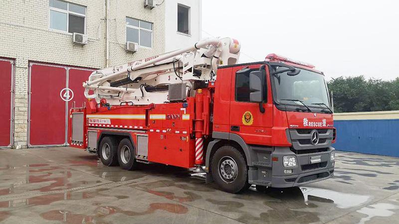 河北消防救援总队为雄安新区消防救援筹备组配发两部消防车
