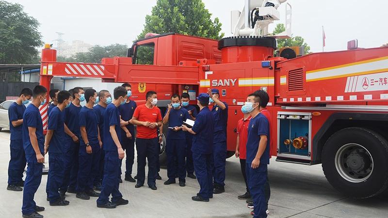 雄安新区消防救援筹备组开展新装备培训测试工作