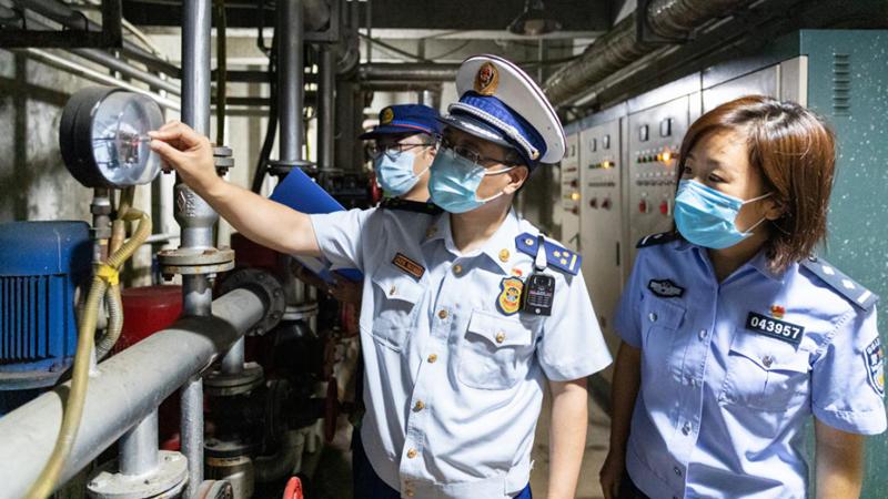 图集丨雄安新区安新消防开展中考场所消防检查