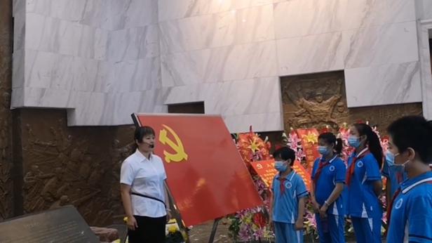 微视频   河北南宫:聆听抗战故事 缅怀抗战英烈
