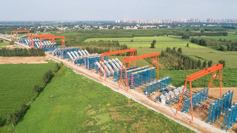 看建雄安丨京雄高速SG5标段工程总进度已完成63.4%