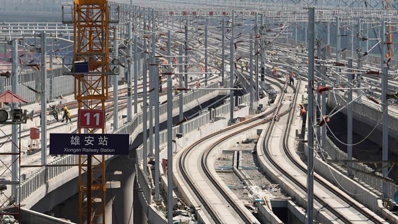 坐着高铁赶飞机,京雄铁路北京段将迎开通一周年