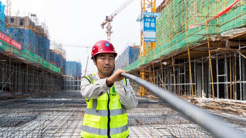 我和雄安的故事㉔丨雄安工匠李瑞峰:发扬工匠精神 当一名优秀的钢筋工