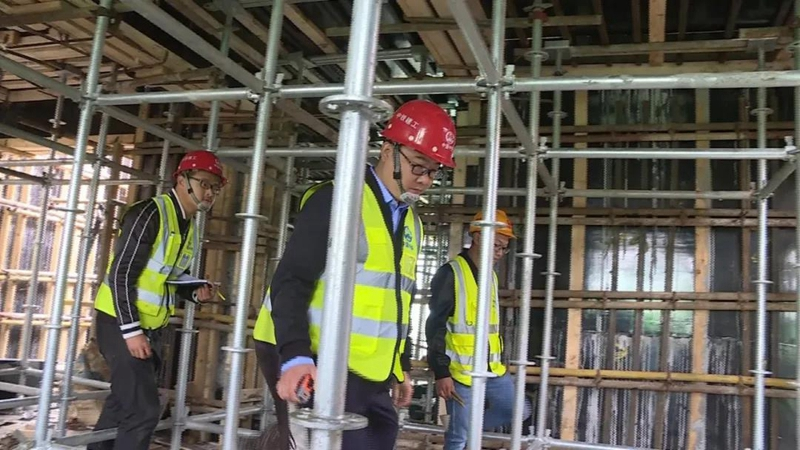 【重点工程 祝福祖国】雄安新区建设者:坚守工作岗位 创造雄安质量