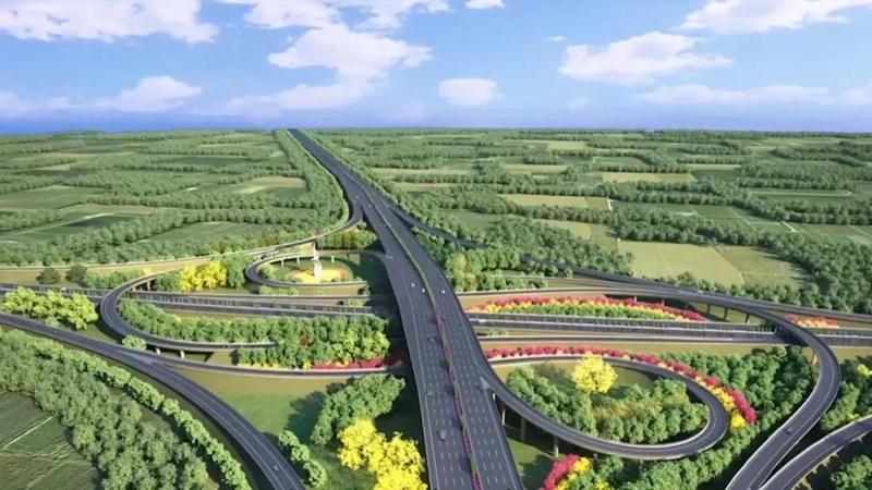 【重点工程 祝福祖国】京雄高速:国庆假期建设加速 打造对外骨干路网精品工程