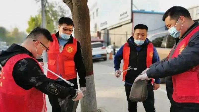 雄安容城县:助力创城攻坚,全民志愿者在行动
