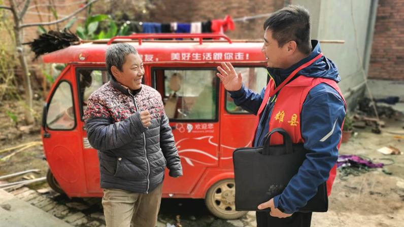 """雄安征迁丨雄县小步村征迁群众把征迁队员宣传成了""""网红"""""""