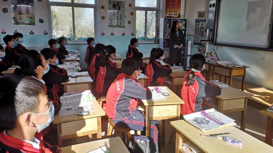 雄安新区开展2020年第一期阅读进校园活动