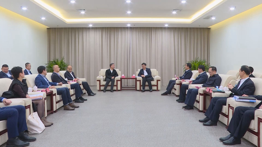 陈刚与华润集团董事长王祥明一行举行工作座谈