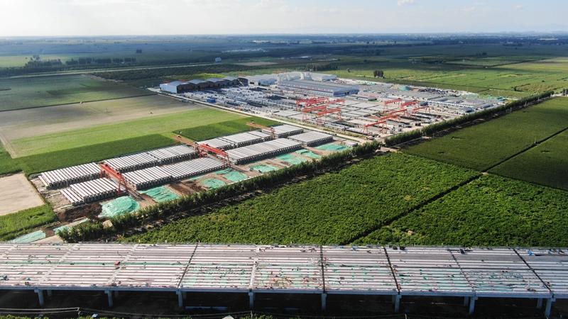 看建雄安丨京雄高速SG5标段完成全部T梁预制施工