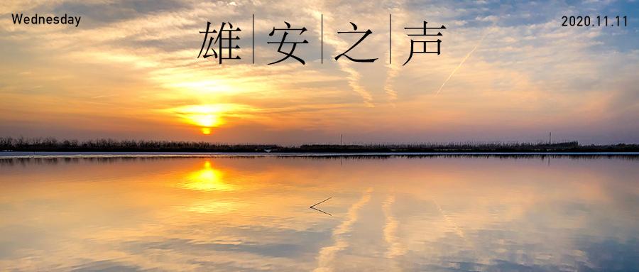 【雄安之声】20201111