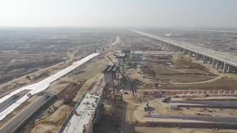 最新视频|雄安新区:R1线先期实施段加紧建设