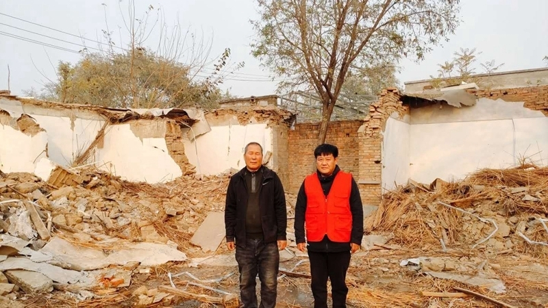 容城县八于乡南河照村干群合力奏响和谐征迁曲