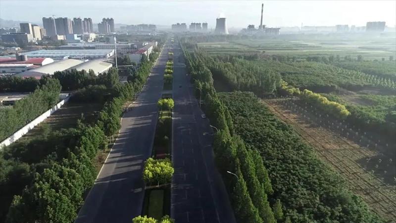 保定:打造环雄安新区生态林带