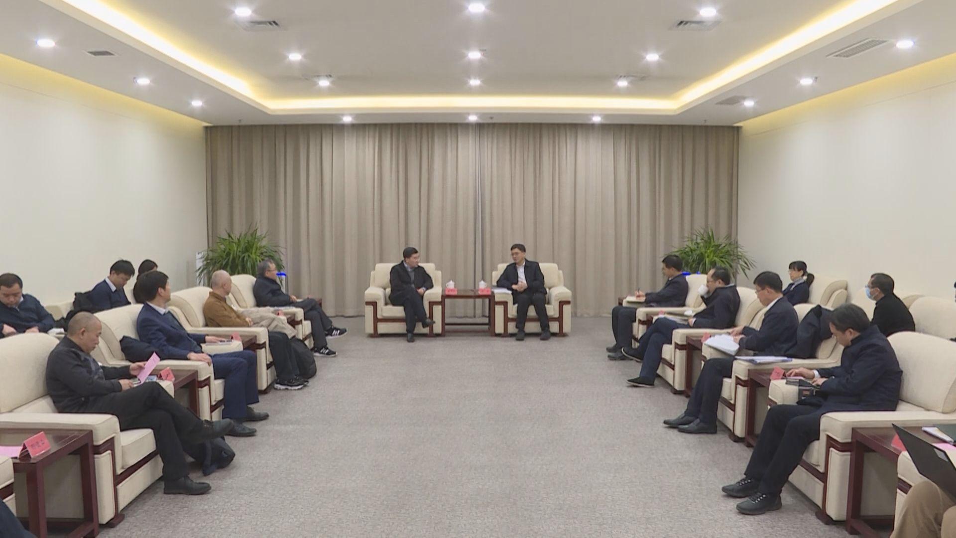 国务院发展研究中心副主任张军扩一行到雄安新区调研