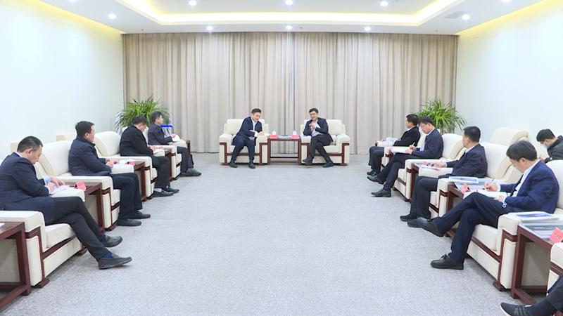 陈刚与中车四方股份公司党委书记、董事长田学华一行举行工作座谈