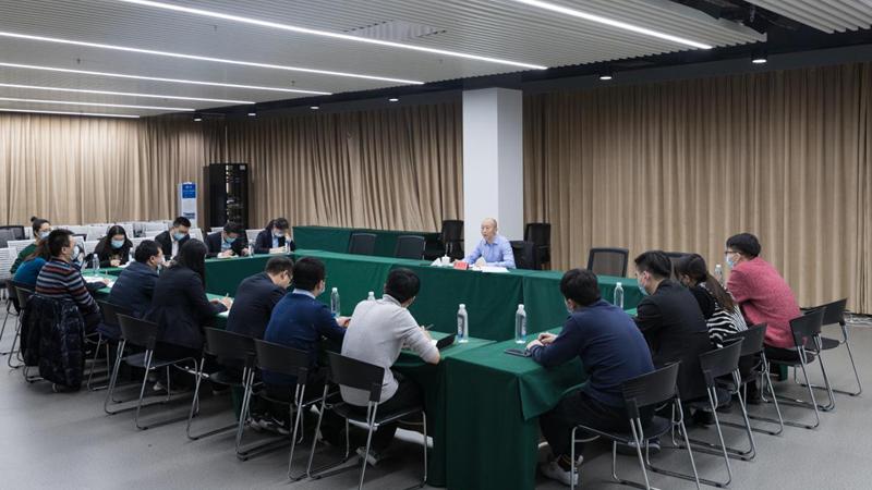 王永杰宣讲党的十九届五中全会精神