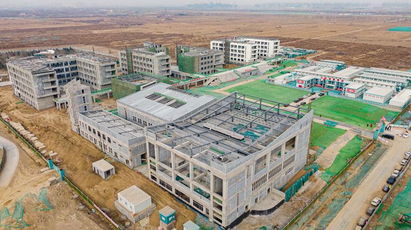 看建雄安丨北京市第四中学雄安校区项目顺利推进中