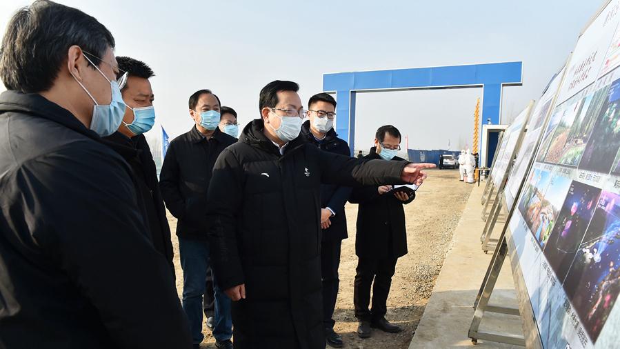 张国华调研白洋淀生态环境治理和保护项目
