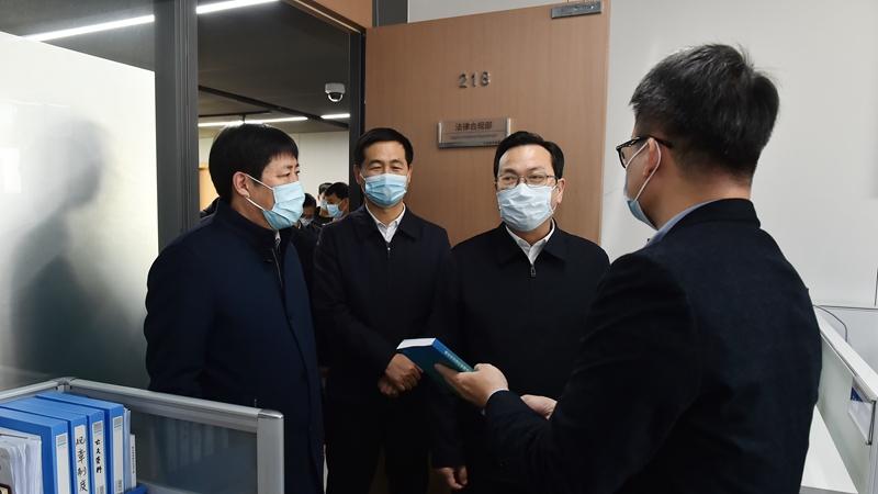 张国华到雄安集团调研
