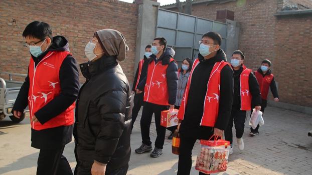 雄安新区多种志愿活动保障群众欢度春节