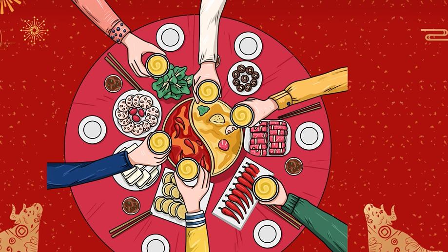 【暖心中国年】满足过年仪式感!如何快速做一大桌子菜?