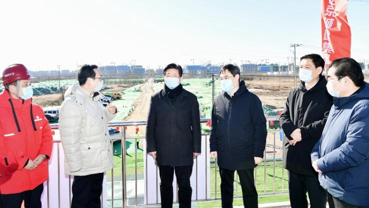 视频丨王东峰在雄安新区调研检查