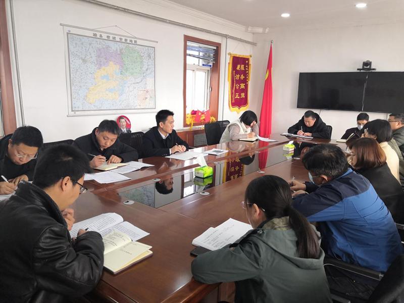 安新县龙化乡组织召开党史学习教育动员部署会