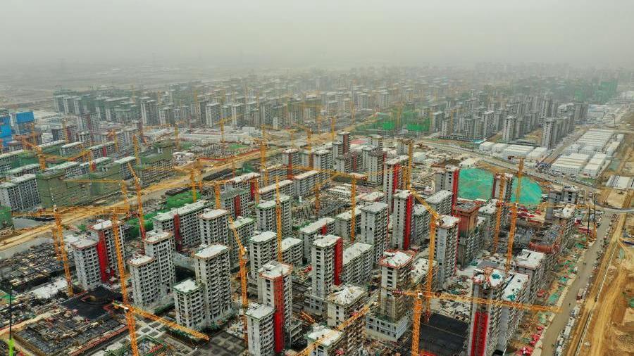 河北雄安新区容东片区安置房项目有序推进