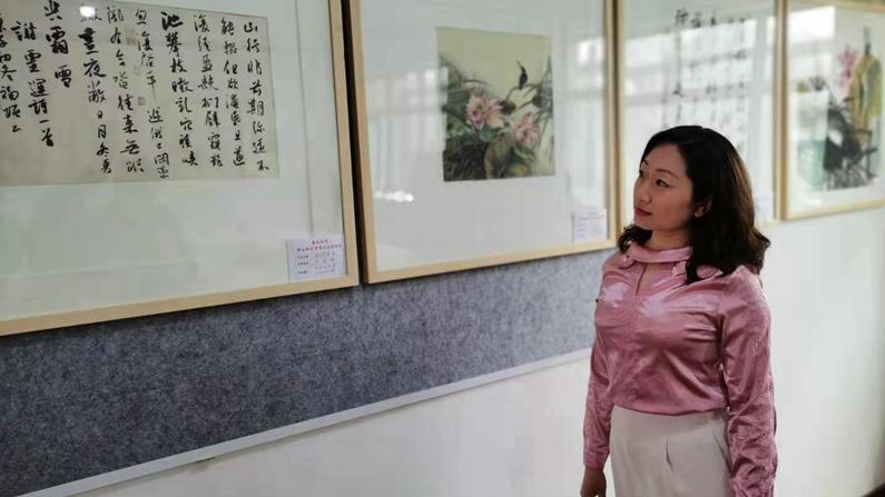 """雄安新区雄县举行""""春讯相闻""""书画名家邀请展"""