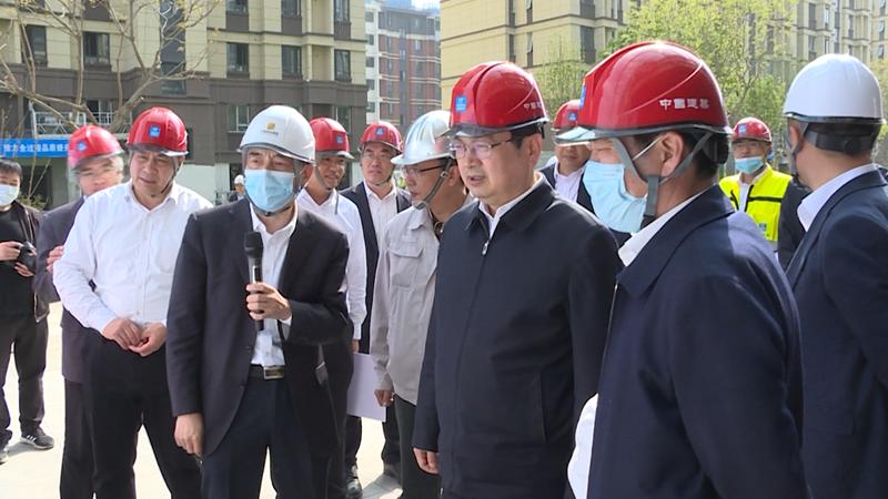 张国华调研容东容西重点项目建设及城市运营管理