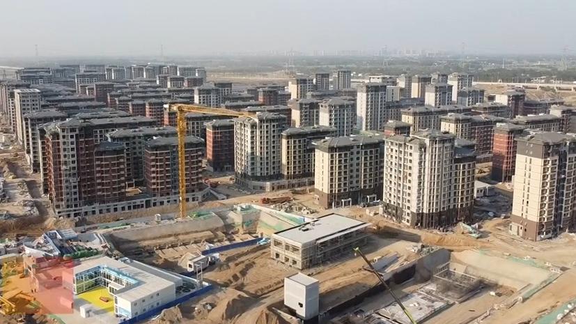 雄安新区容东片区安置房及相关配套基础设施加紧建设