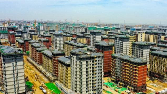 河北雄安新区容东片区安置房项目建设有序推进